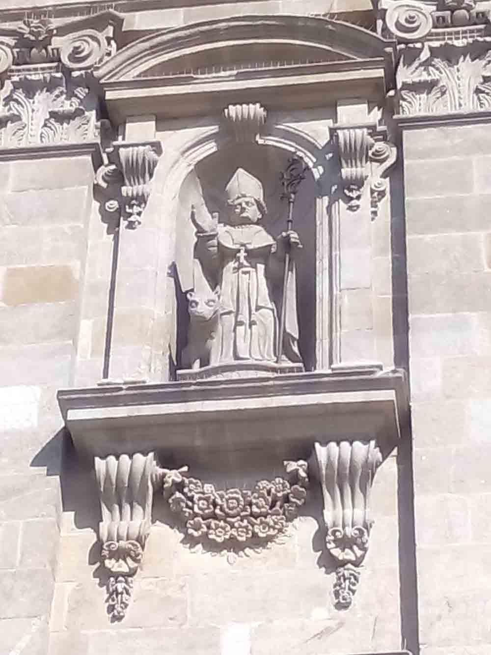 Imagen San Froilán en la Catedral de Lugo