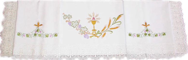 Mantel Para Altar Mantel De Altar Bordado Brabanderes - Manteles-para-bordar