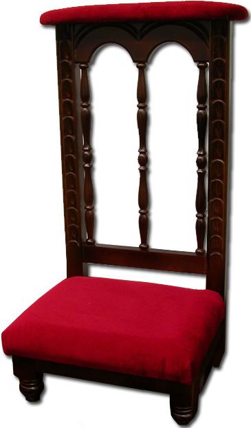 Reclinatorio de iglesia reclinatorio para parroquia for Sillas para iglesia en madera